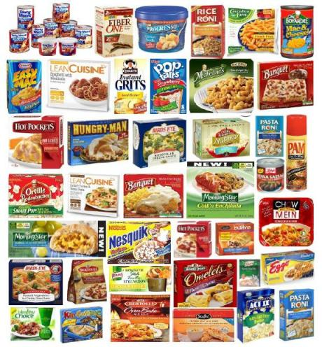 HINT: If you're looking at this picture, ALL of these foods have palm oil as an ingredient.